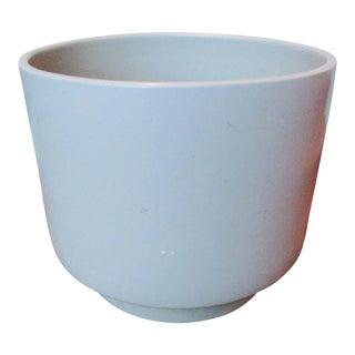 Gainey-Style Glazed Pot in Gray