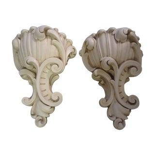 Vintage French Serge Roche Style Sconces - A Pair