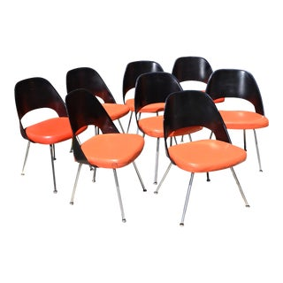 Eero Saarinen for Knoll Dining Chairs - Set of 8