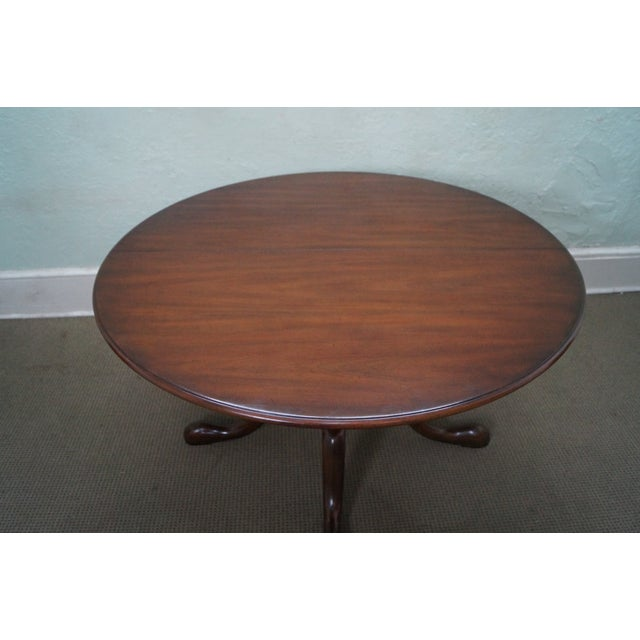 Kittinger Solid Mahogany Extension Dining Table - Image 3 of 10