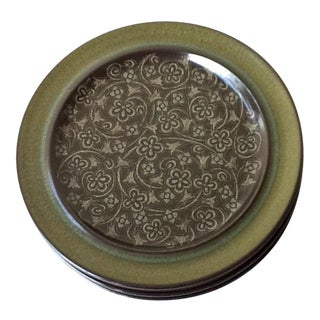 Mid-Century Franciscan Dinner Plates - Set of 4