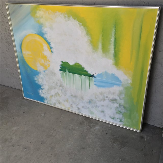 """""""Tranquillity"""" Original Oil Painting - Image 3 of 11"""