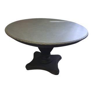 """Mahogany Round or Oval (With Additional 24"""" Leaf) Dining Table"""