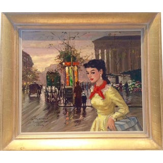 "Mid-Century ""Le Madeleine"" Francois Gerome Painting"