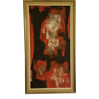 Mid-Century Abstract Oil Painting