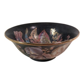 Vintage Gold Trim Cloisonné Bowl