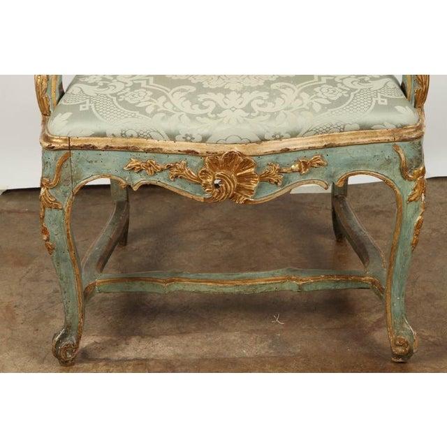 Fine Venetian Rococo Arm Chair - Image 5 of 9