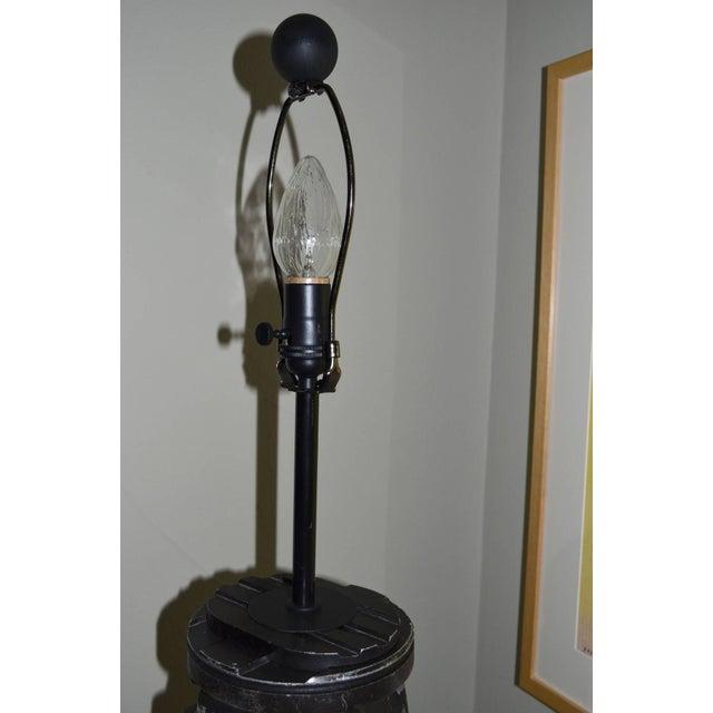 Black-And-White Surveyor's Tripod Floor Lamp - Image 7 of 7