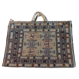 Vintage Kilim Saddle Bag