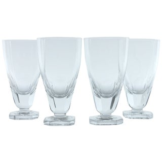 Heavy Footed Sherry Glasses - Set of 4