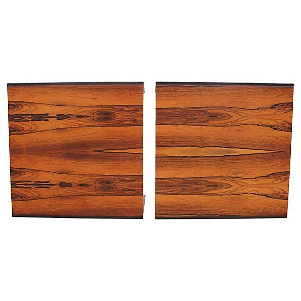 Baker Rosewood Tables - A Pair - Image 3 of 9