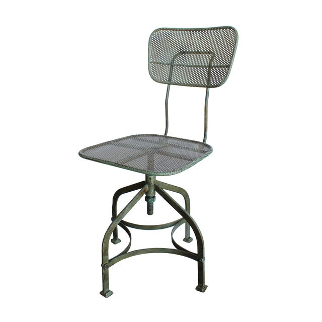 Adjustable Perforated Factory Chair - Image 2 of 3