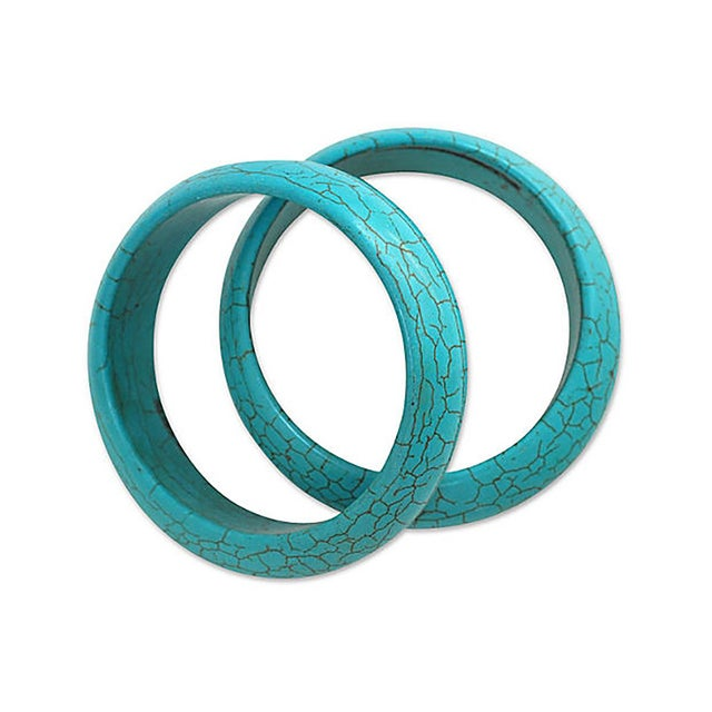 Image of Turquoise Bangles - A Pair