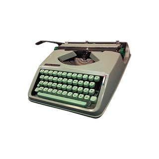 1968 Hermes Rocket with a Russian Ukraine Keyboard