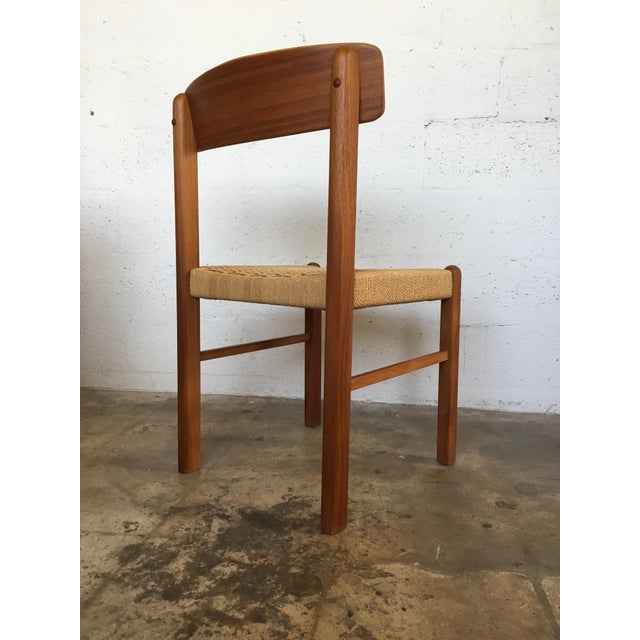 Mid-Century Danish Modern Dining Chair