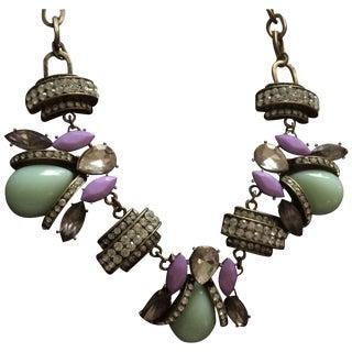 Charm Chain - Lavender & Light Green