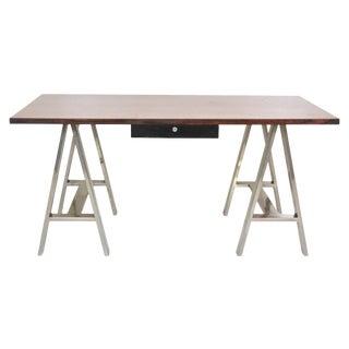 Modern Design Sawhorse Leg Desk