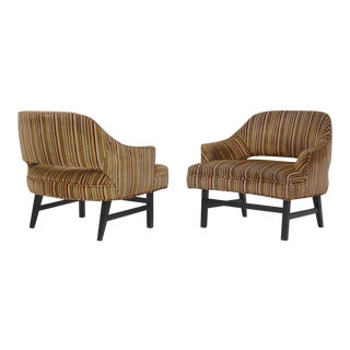 Pair of Compact Lounge Chairs by Harvey Probber