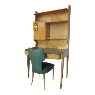 Gio Ponti style Upright Writing Desk