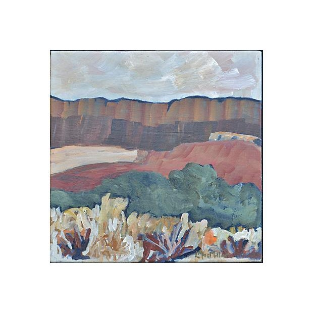 """Laurie MacMillan """"The Piano Ridge"""" Painting - Image 2 of 2"""