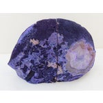 Image of Purple Geode Bookends - A Pair