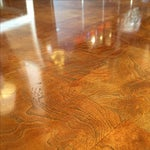 Image of Asian Style Parquet Cocktail Table