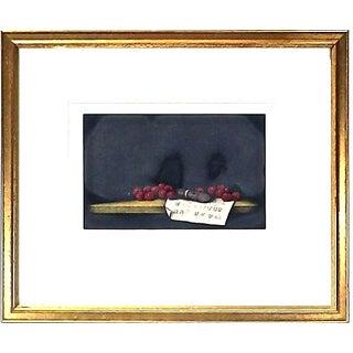 T. Yolk Vintage Still Life Fruit Print