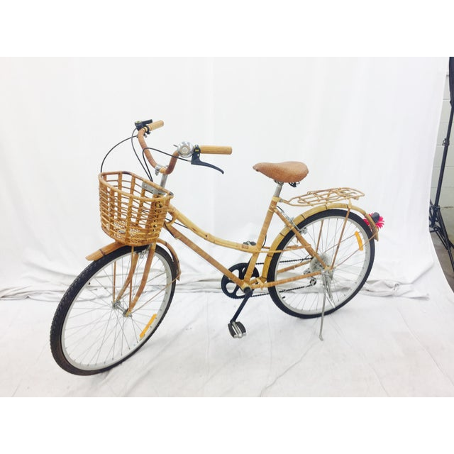 Vintage Bamboo Bicycle - Full Size - Image 4 of 11