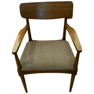 Danish Mid Century Modern Teak Chair