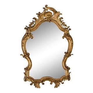 Antique French Louis XV Rococo Mirror circa 1890
