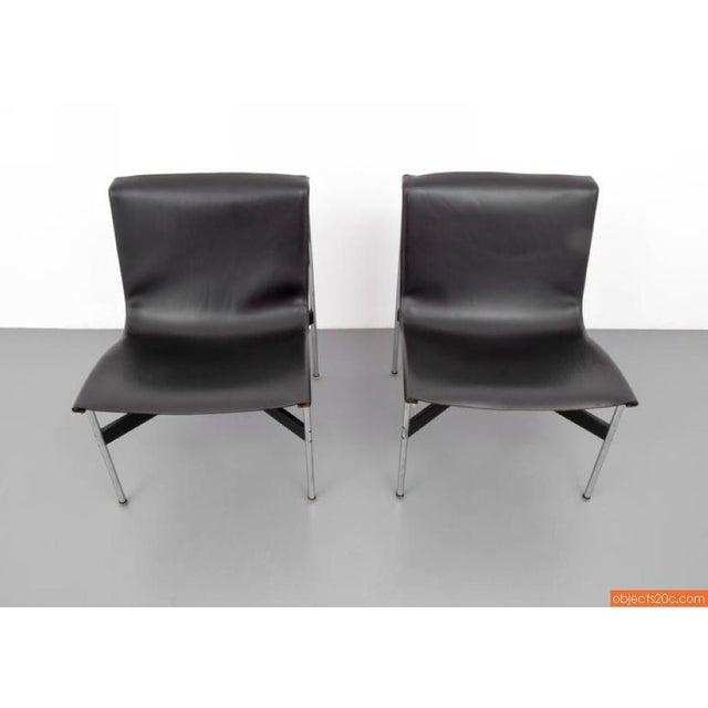 Pair Of William Katavolos, Ross Littell & Douglas Kelley, New York Lounge Chairs - Image 5 of 7