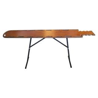 Vintage Repurposed Gurney Sideboard Table