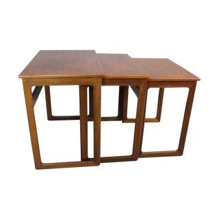 Teak Nesting Tables by A. Kildeberg - Set of 3