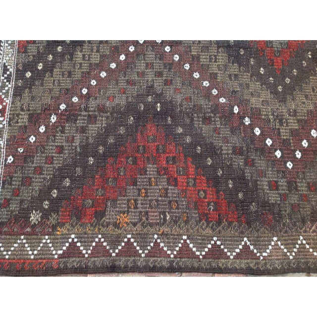 Image of Vintage Turkish Kilim Rug - 5′7″ × 7′2″
