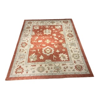 Bellwether Rugs Vintage Inspired Turkish Oushak Area Rug - 10' x 12'4""