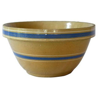 Vintage Stoneware Farmhouse Bowl