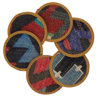 Naila Kilim Coasters - Set of 6