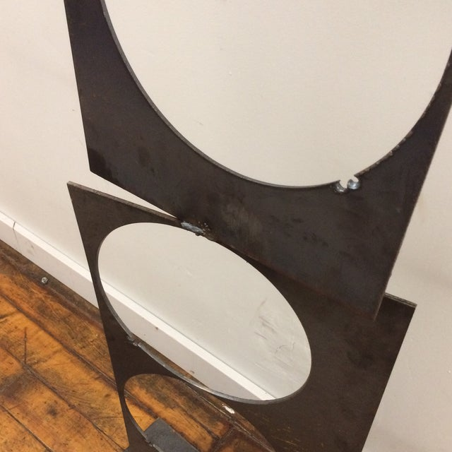 Image of Abstract Iron Scupture