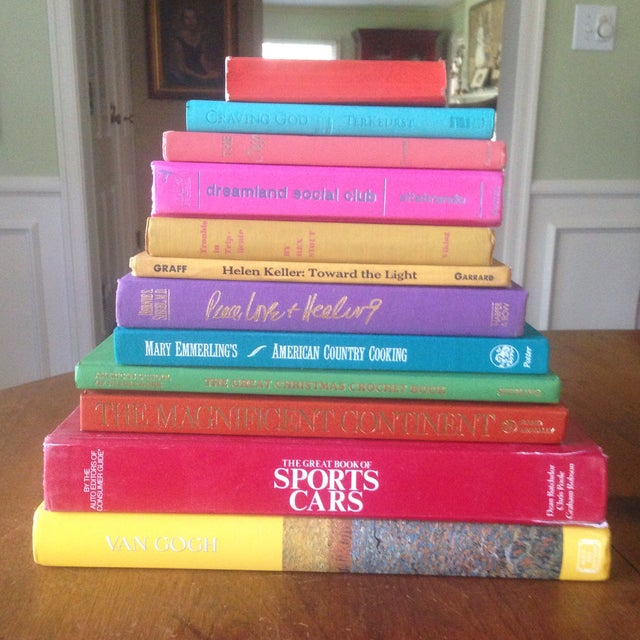Brightly Colored Decorative Books - Set of 12 - Image 2 of 11