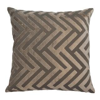 "Piper Collection Gray ""Susan"" Pillow"