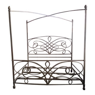 King Size Iron Canopy Bed