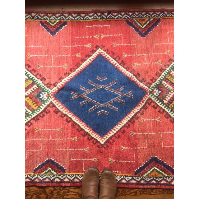Vintage Moroccan Berber Rug - 4x7