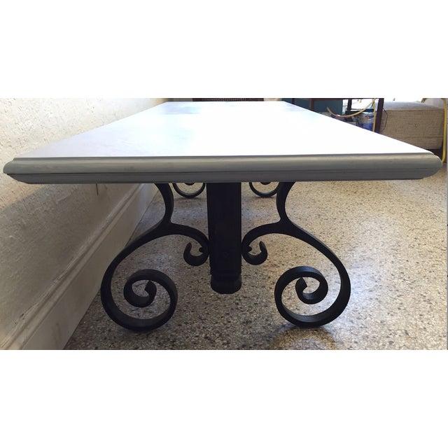 Rustic Wood Coffee Table - Image 4 of 6