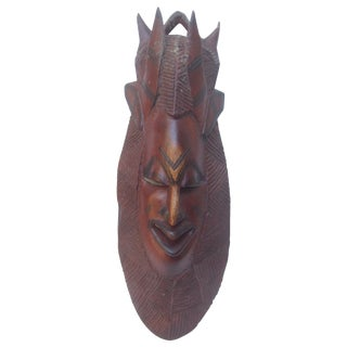 Exotic Hand Carved Tribal Wall Hanging Mask