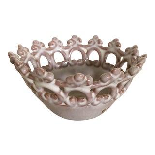 Italian Tiara Bowl