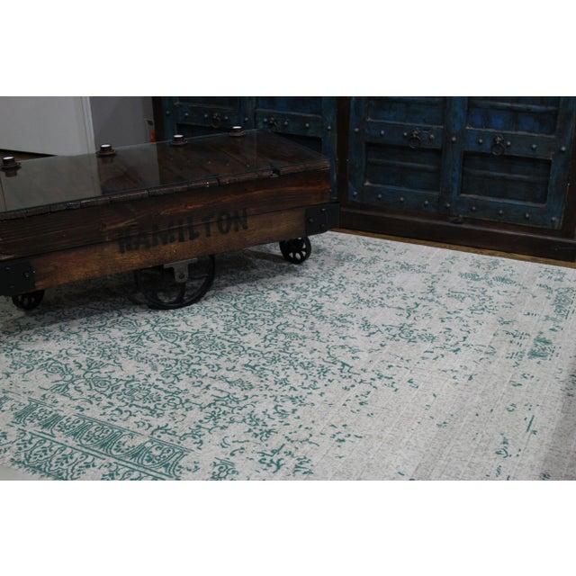 Teal Distressed Rug - 8' X 10'7'' - Image 4 of 6