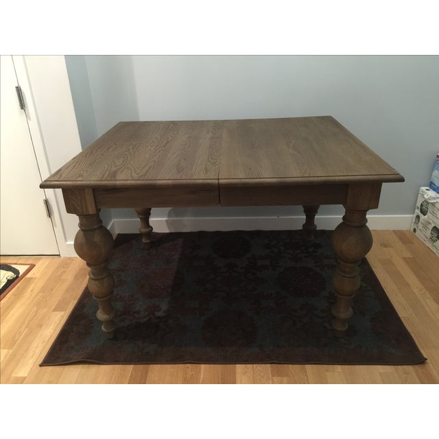 Grand Baluster Extension Dining Table By RH Chairish
