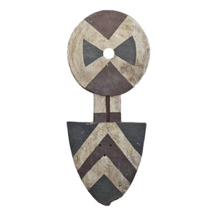 African Bedu Plank Mask