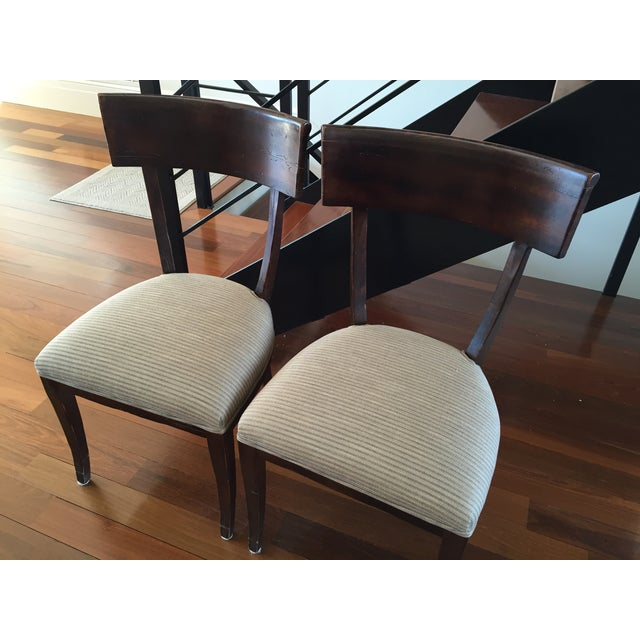 Image of Milling Road/Baker Dining Chairs - Pair
