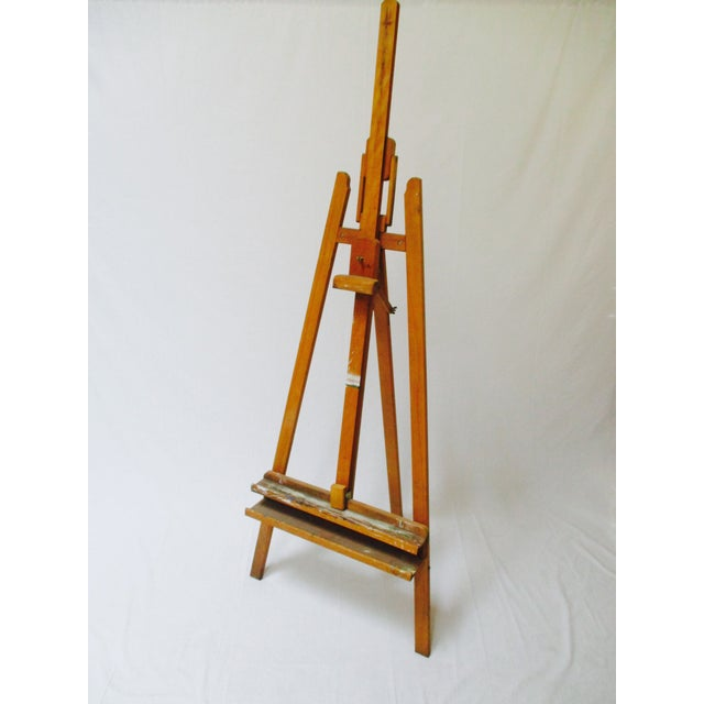 French Standing Wood Easel - Image 5 of 6